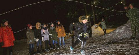 Зимний тренинг для школьников